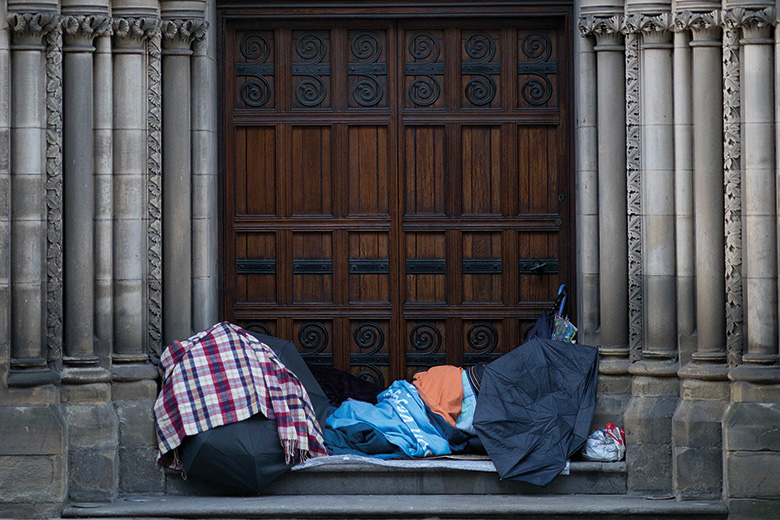 Homeless sleepers