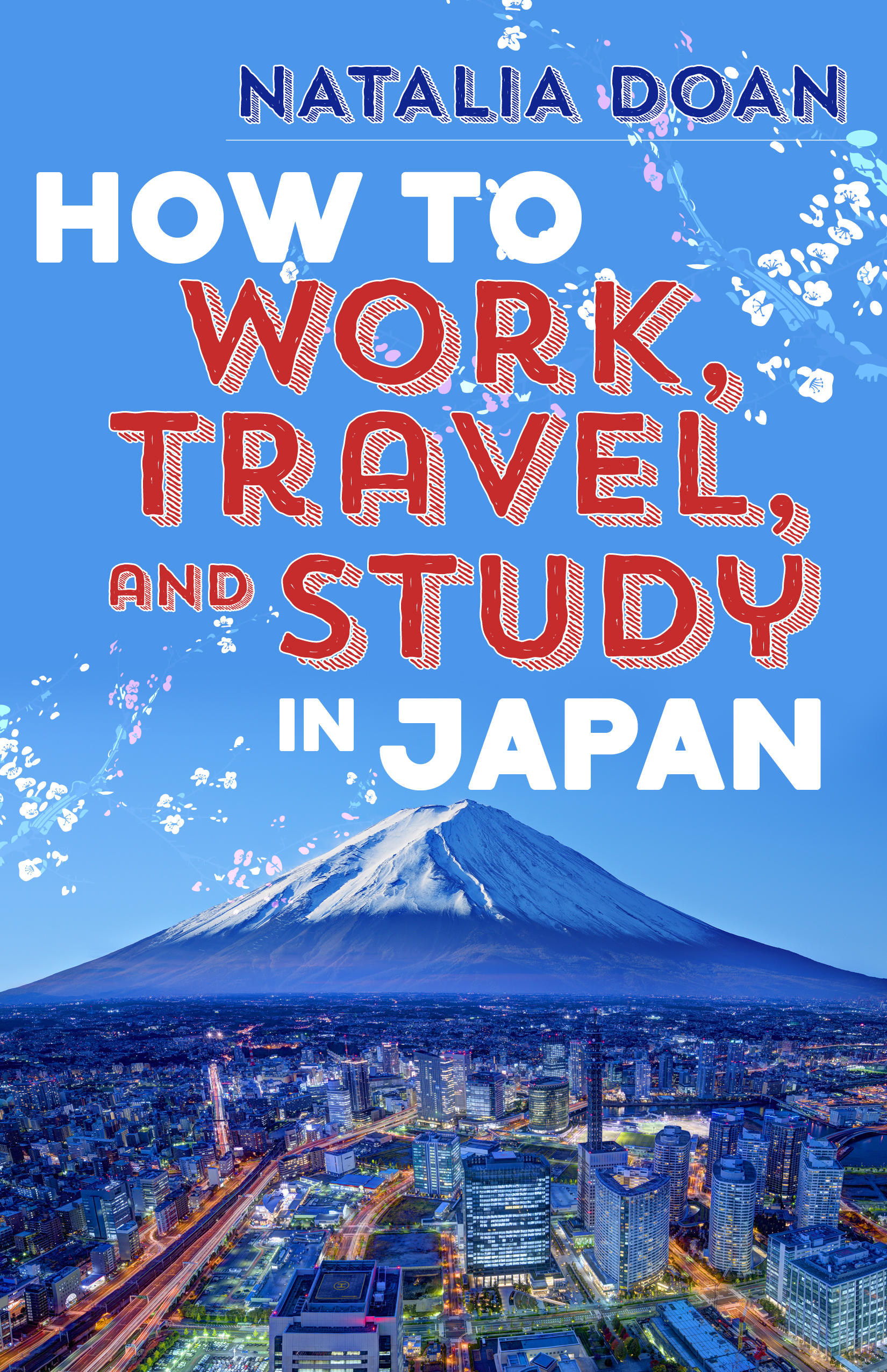 How to work, travel and study in Japan book cover