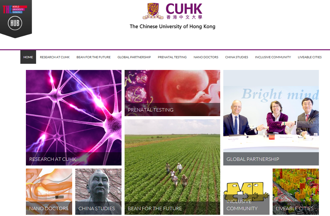 CUHK Research Hub