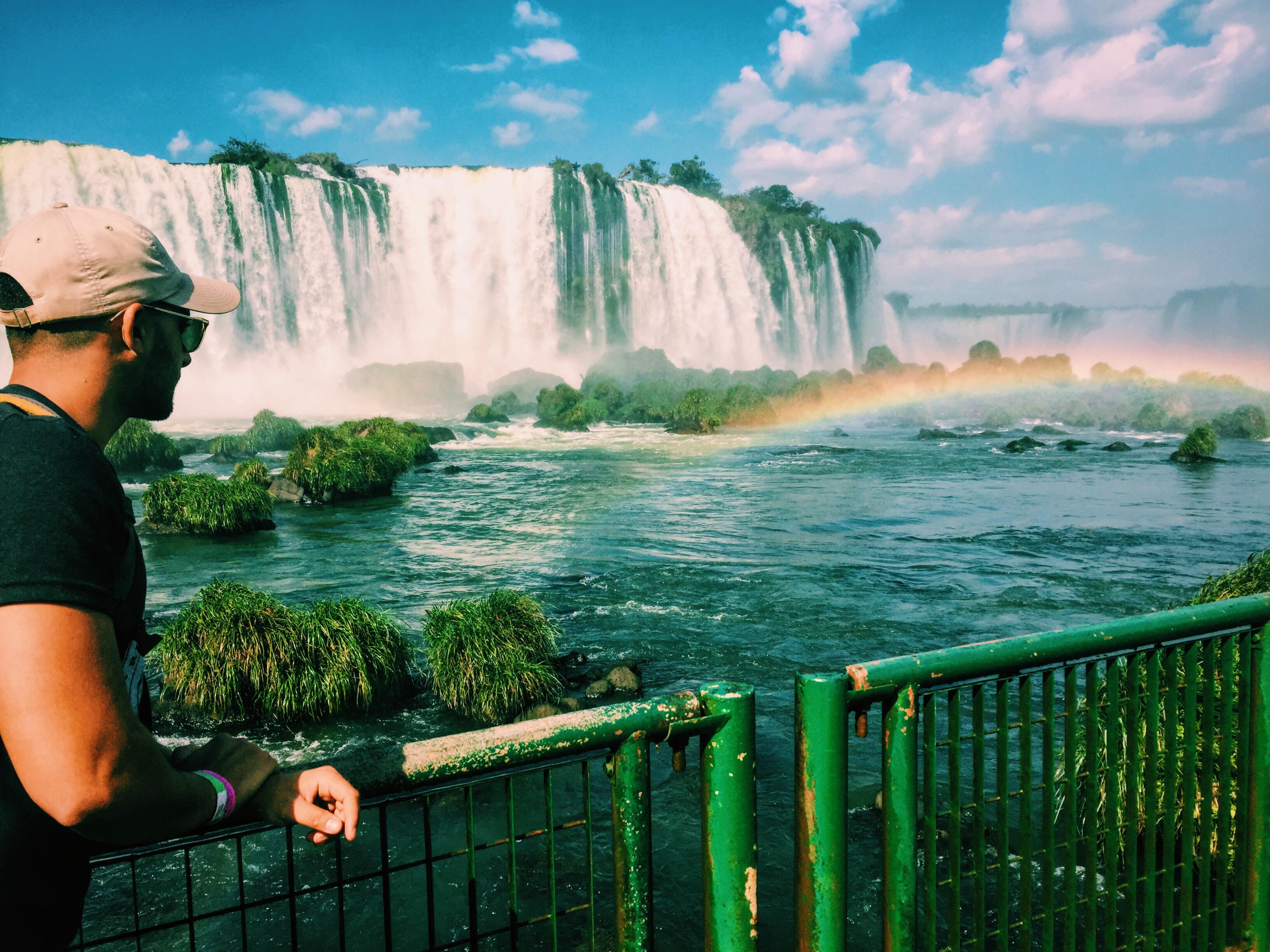 Igazu Falls, Buenos Aires by Khali Nanji