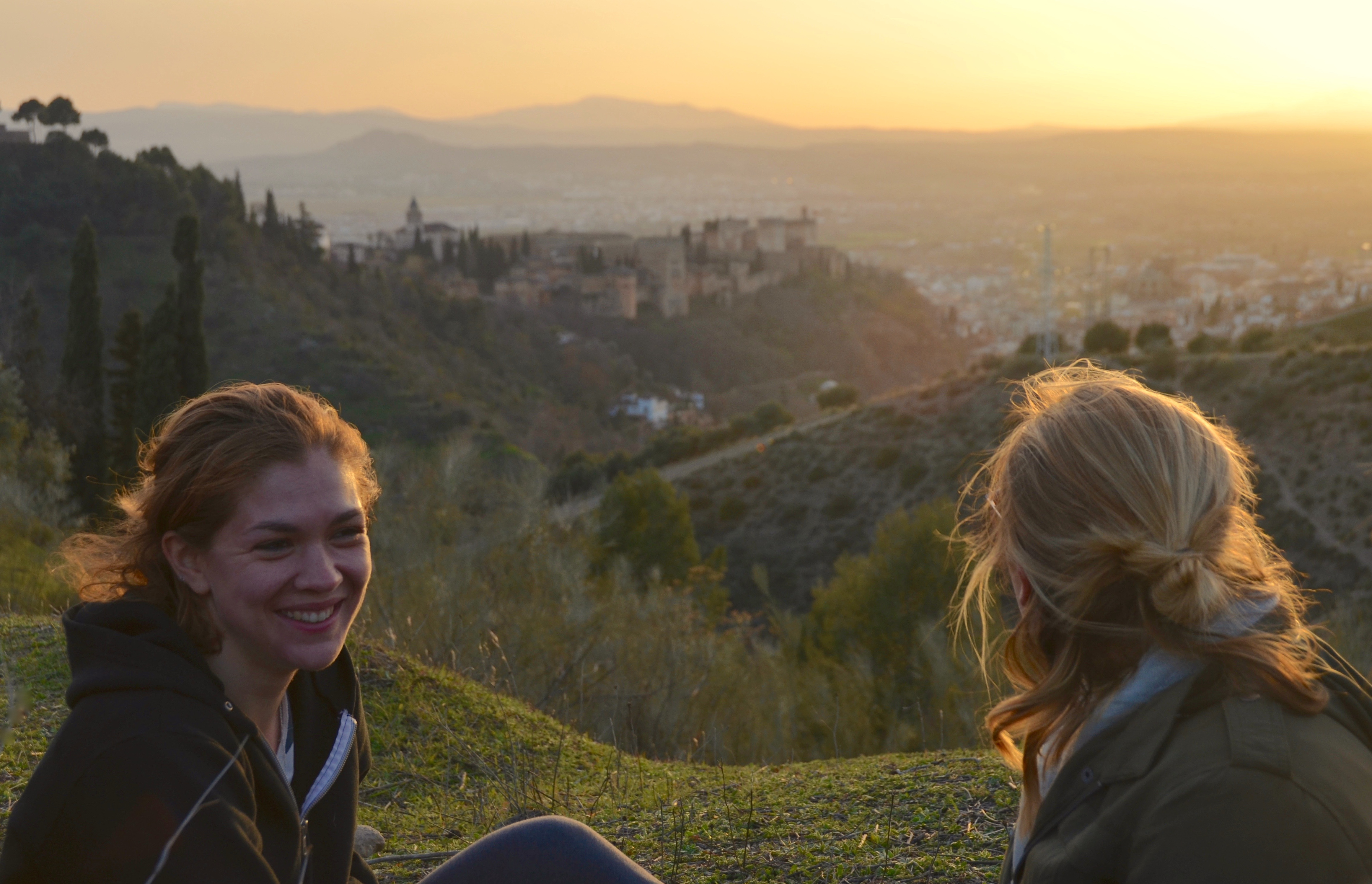 February in the Hills, Granada by Jessie Hook