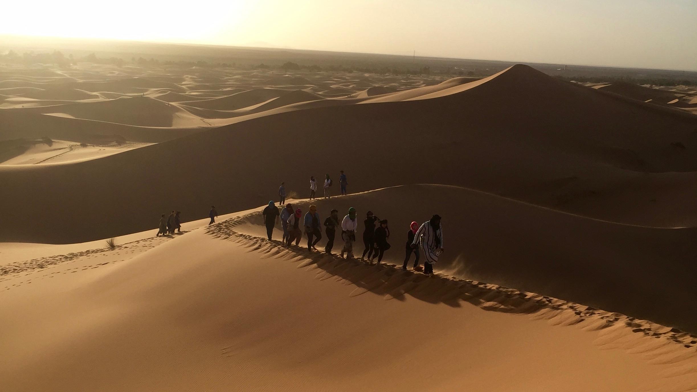 Dunes, Rabat by Melissa Strauss