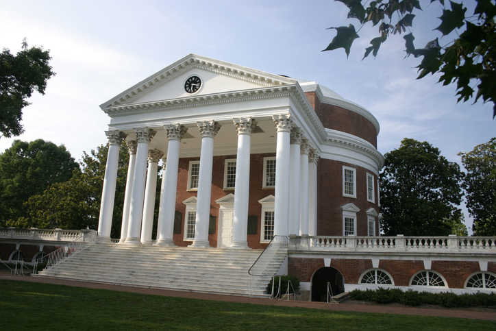 University of Virginia - most beautiful US universities