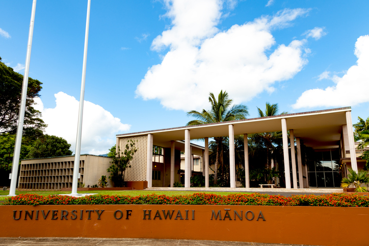 University of Manoa - most beautiful US universities