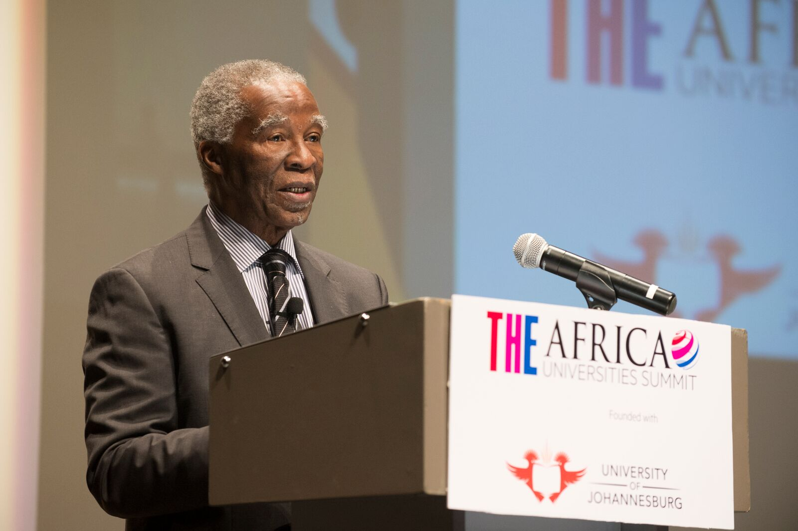Thabo, Mbeki, South Africa, Africa Universities Summit,