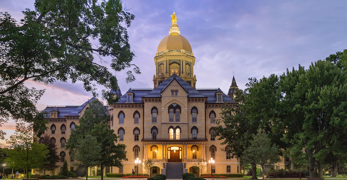 University of Notre Dame - most beautiful US universities
