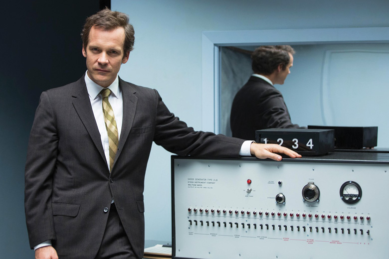 Peter Sarsgaard as Stanley Milgram in Experimenter, 2015