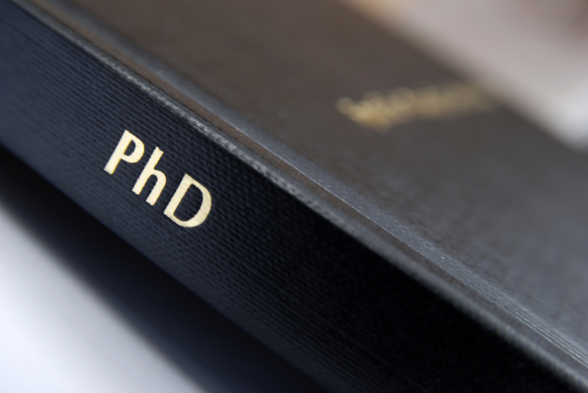 Doctoral thesis in educational management