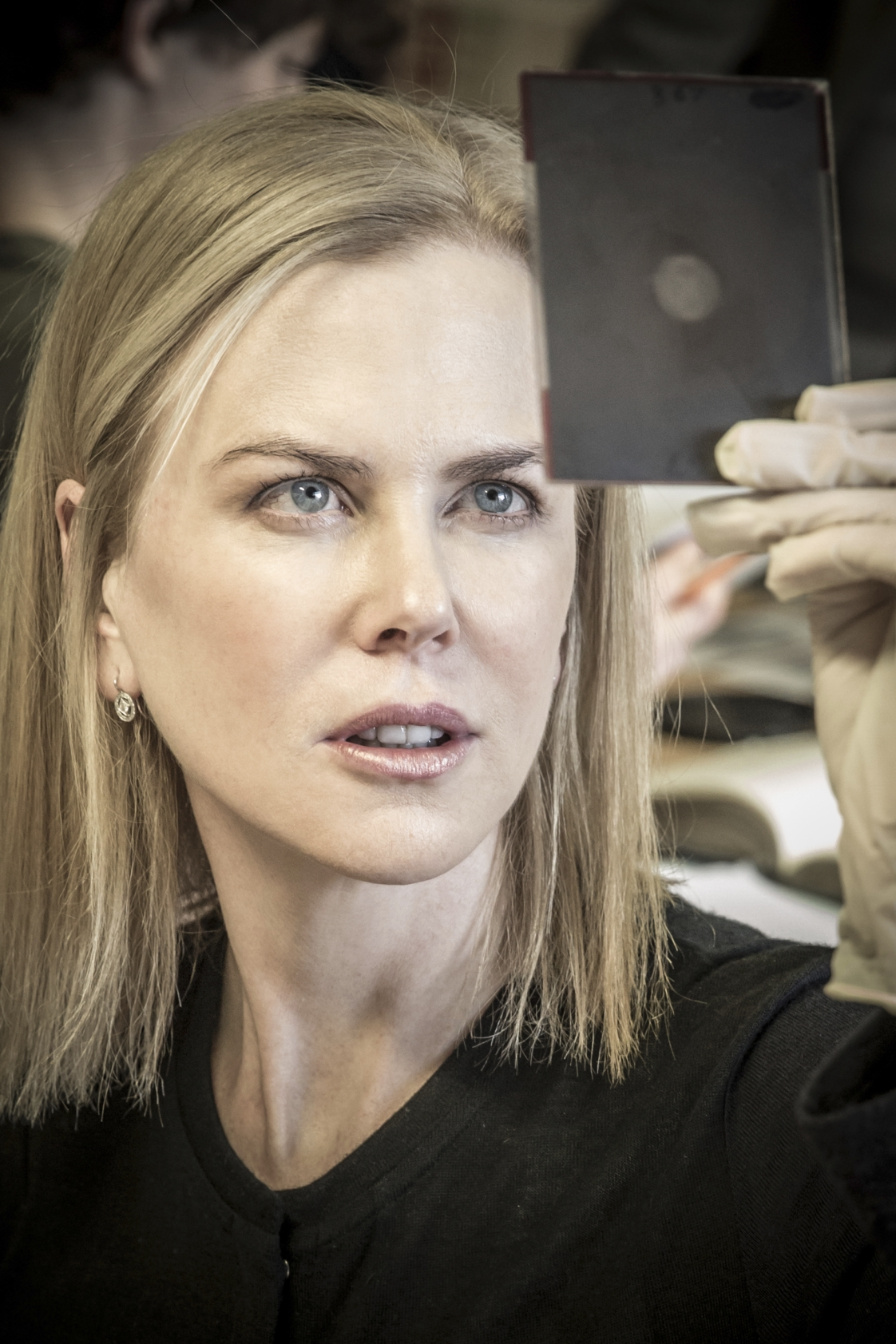 Actress Nicole Kidman visiting King's College London to research play about Rosalind Franklin