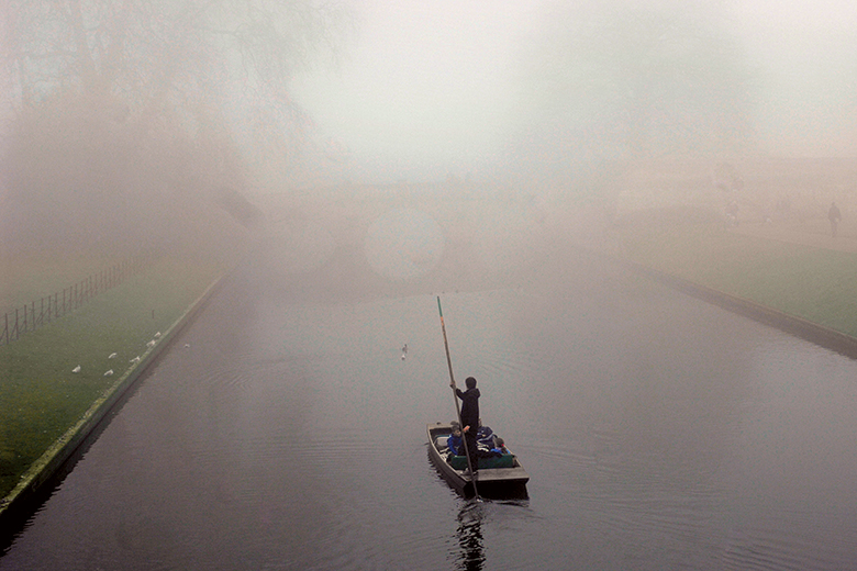 Punting in the fog