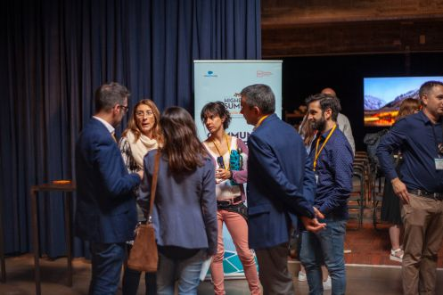 Networking at Higher Ed Summit Horizons 2018