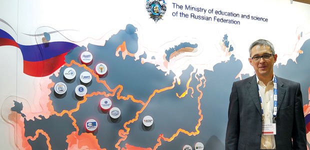 Alexander Povalko, deputy minister of education and science of the Russian Federation