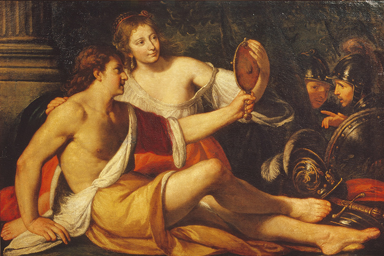 Rinaldo and Armida painting, Pushkin Museum of Fine Arts, Moscow