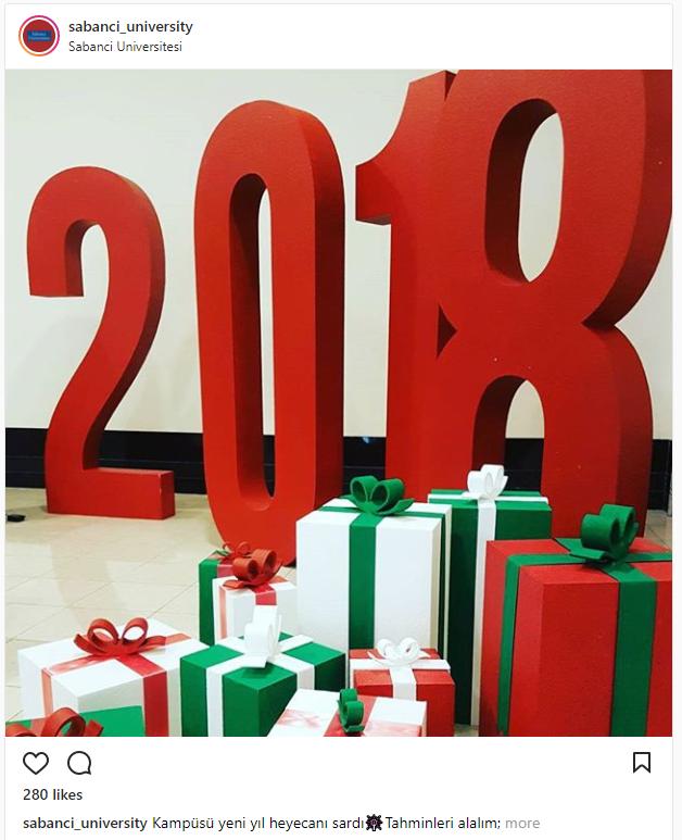 Most festive universities - Sabanci University