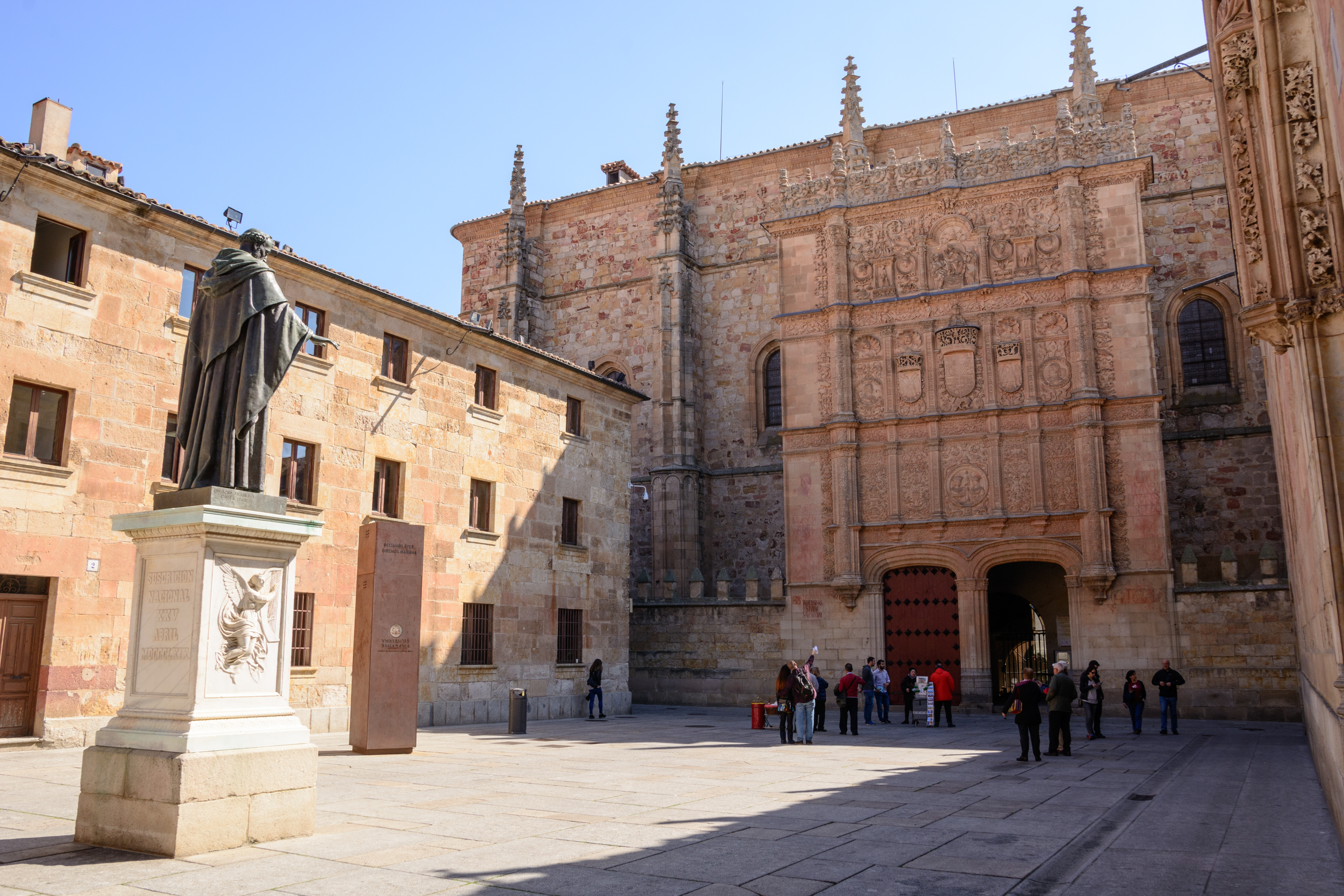 most beautiful universities in Europe - University of Salamanca