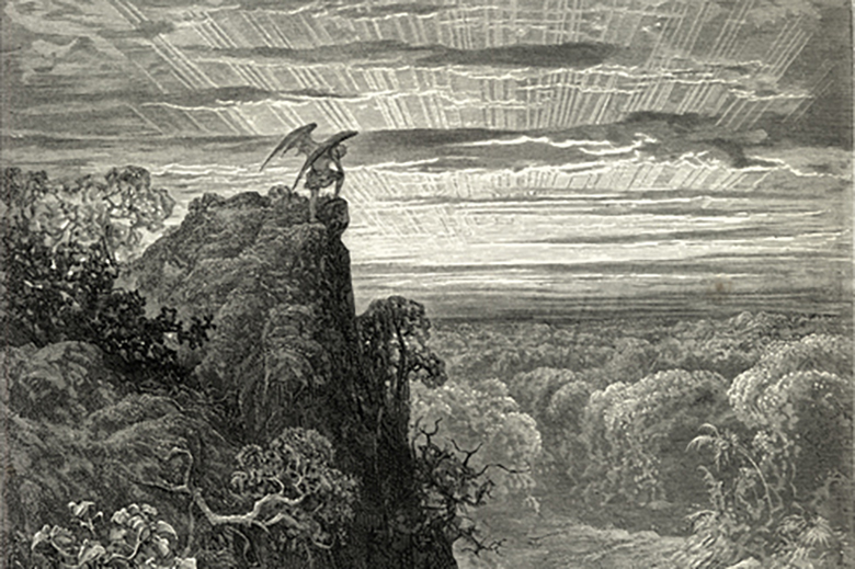 "paradise lost the devil compar Nearly all historical cultures have some mention of a ""paradise"" that has been lost ""that old serpent"" is the title given to the devil paradise lost."