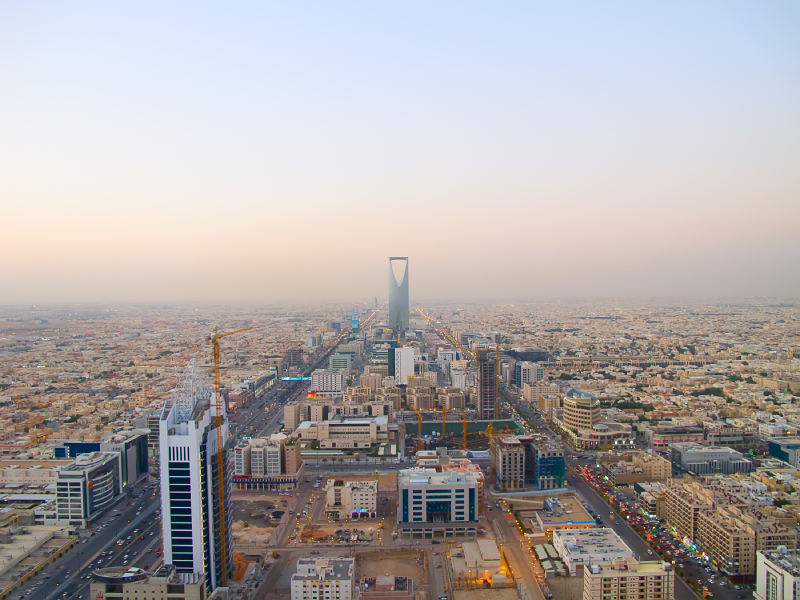Saudi Arabia skyscraper