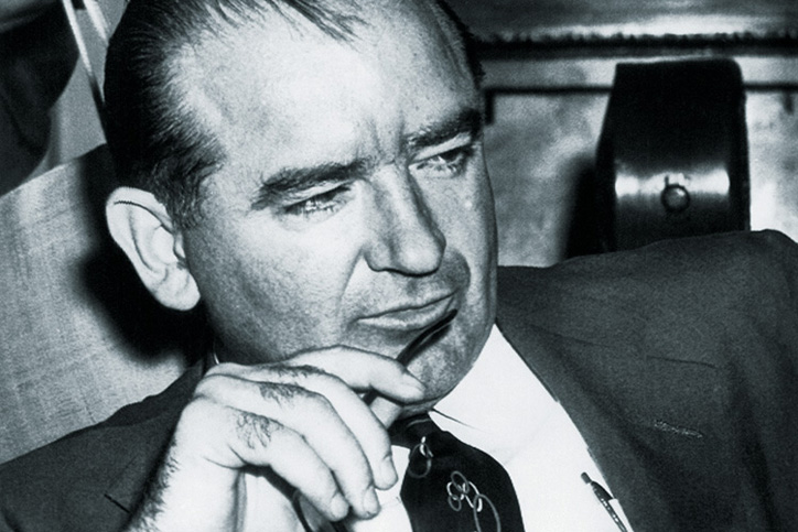 Senator Joseph McCarthy, Senate Censure Committee hearing, 1954