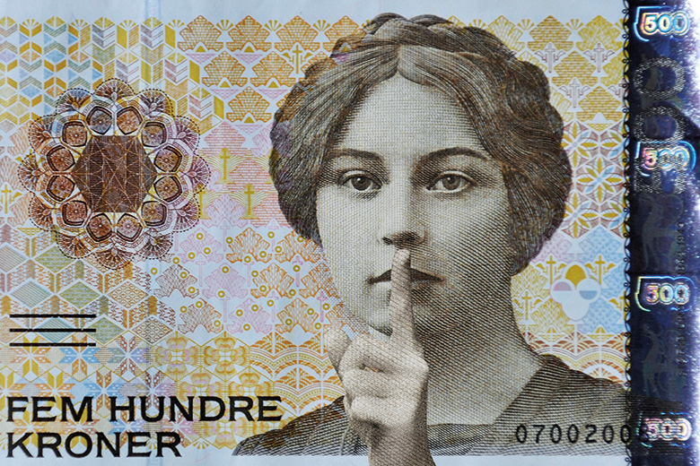 Shush bank note