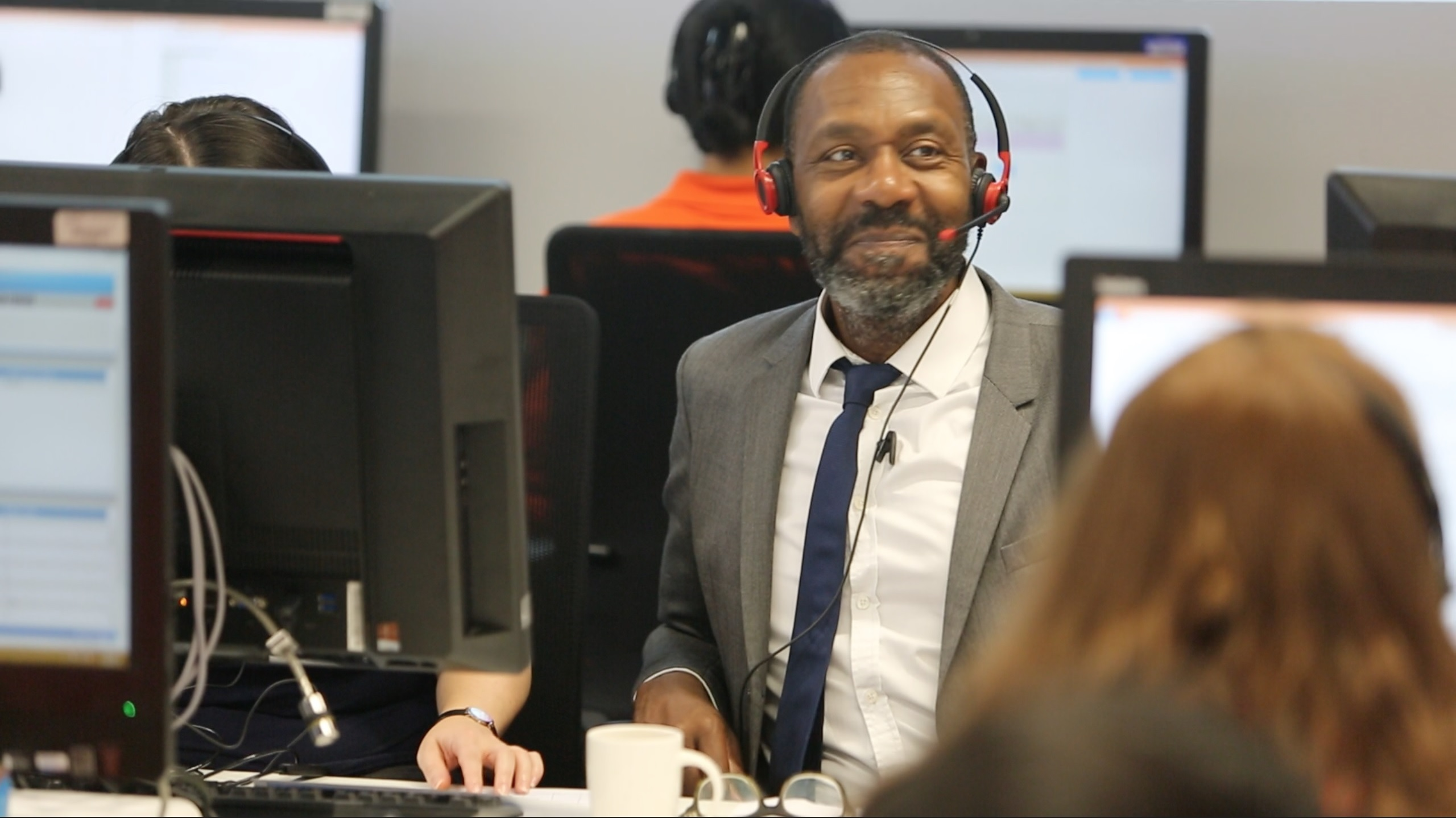 Sir Lenny Henry at Clearing 2017