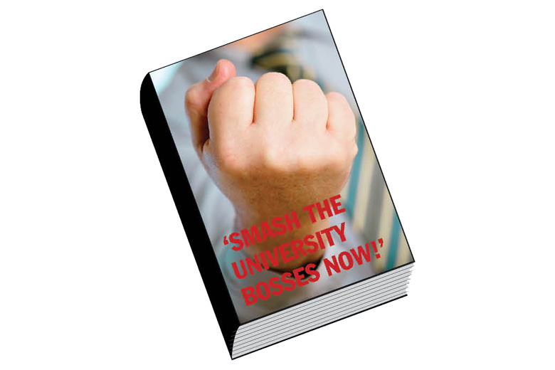 Smash the University Bosses Now! book cover