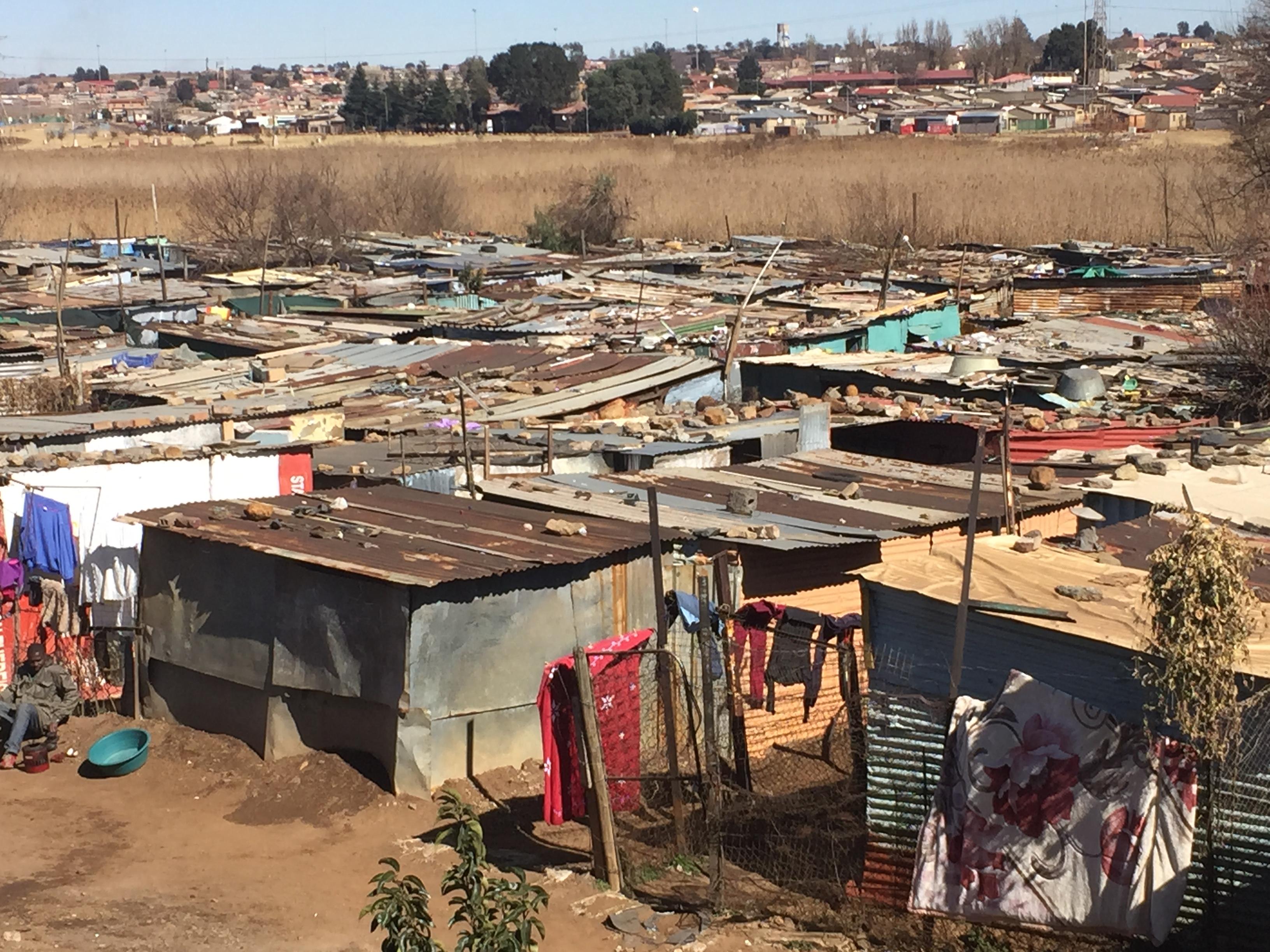 Soweto slum