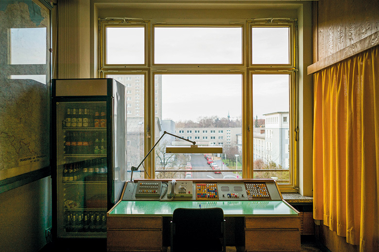 Stasi museum spy desk