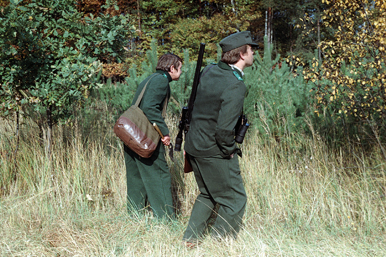 Stasi soldiers