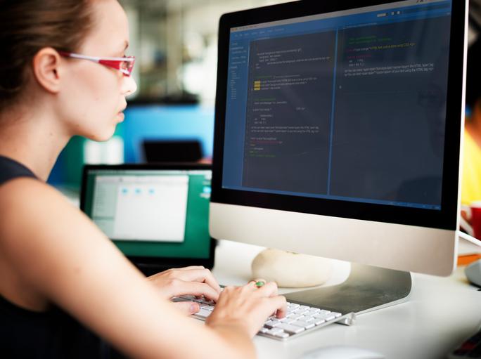 Student coding