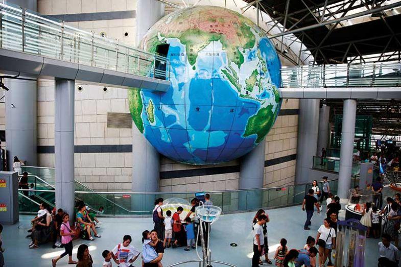 china-museum-globe