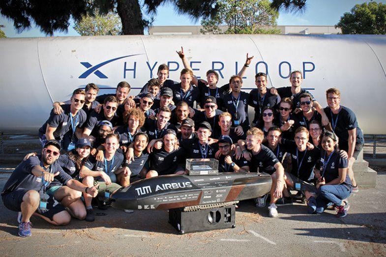 TUM Hyperloop team