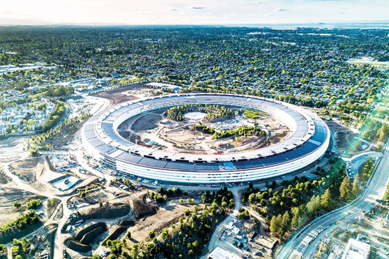 Apple's Cupertino building