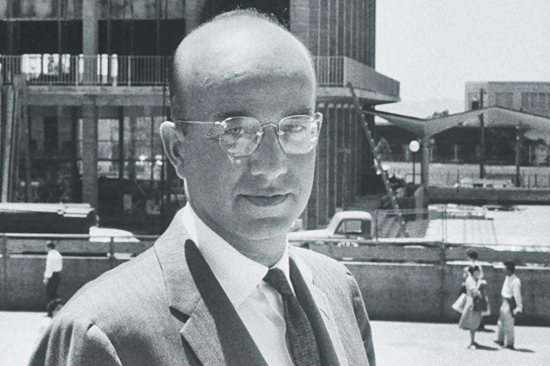 Clark Kerr, first chancellor of the University of Berkeley, California