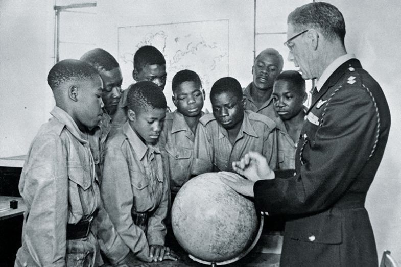 colonial soldier boys globe