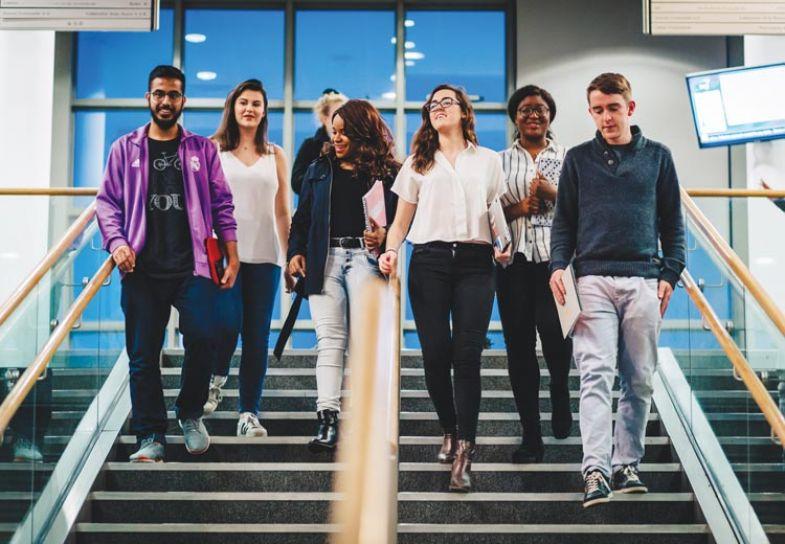 Dublin City University students