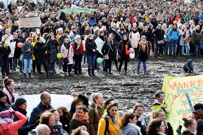 Protest Netherlands