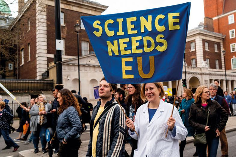 Anti-Brexit rally, London
