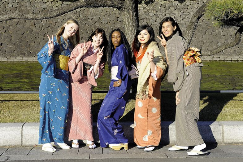 Foreign students in Japan