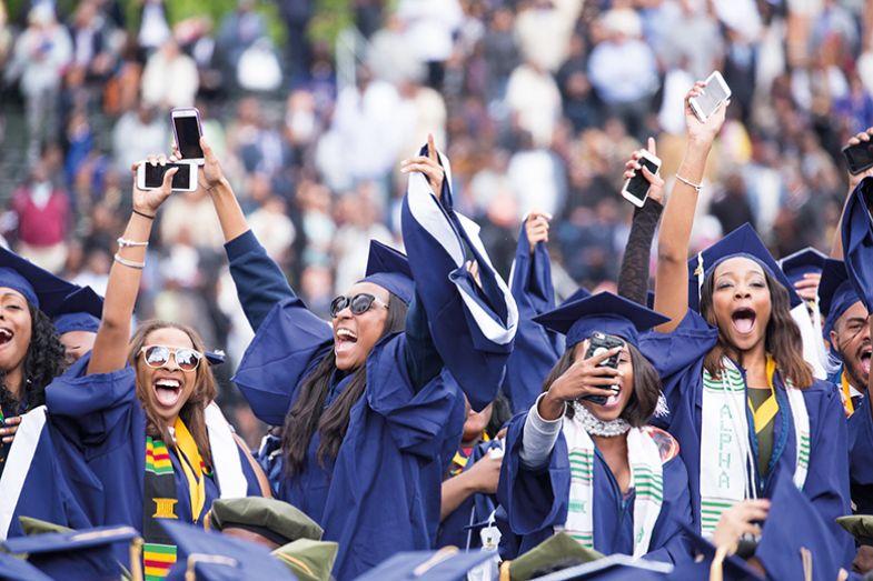 Black female graduates