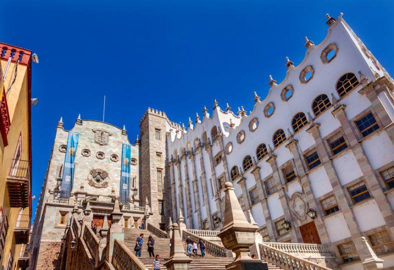 Most beautiful universities in South America - Guanajuato University