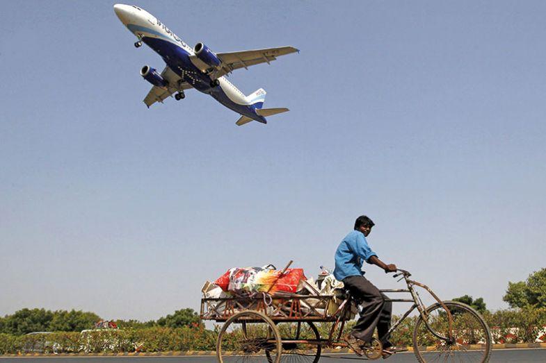 indian flight path