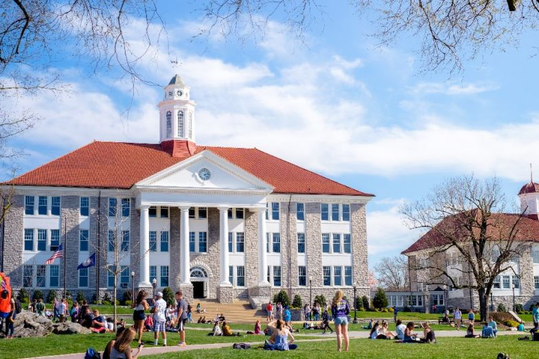 Most-recommended universities in the United States