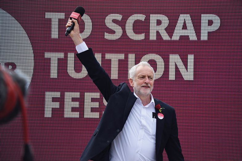 Pledges on tuition fees formed a key plank of Jeremy Corbyn's election campaign