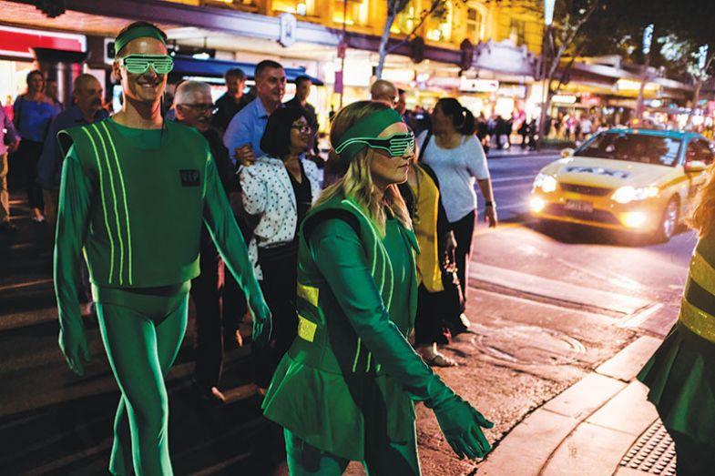 Green crossing chaperones in Melbourne
