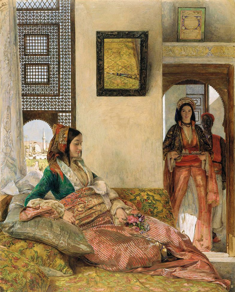 John Frederick Lewis, Life in the Hareem, Cairo, 1858