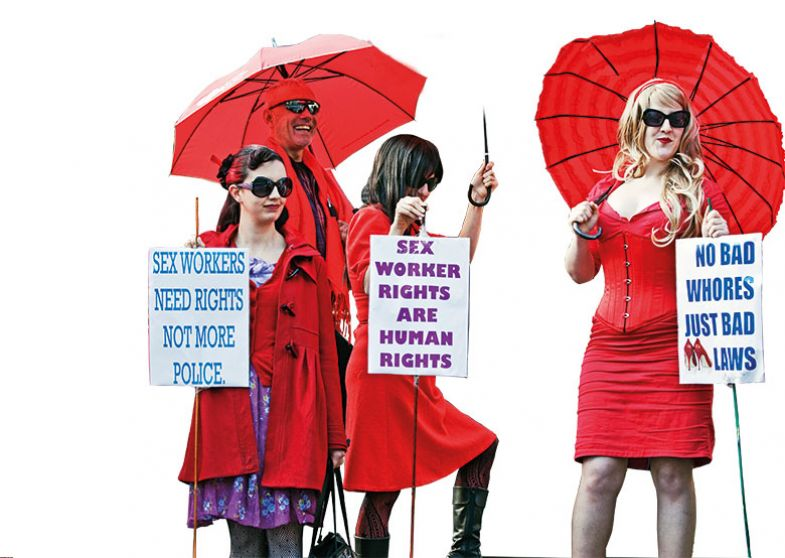 Sex workers protest