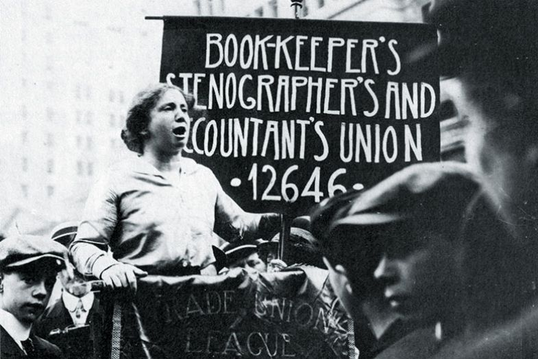 Woman unionist
