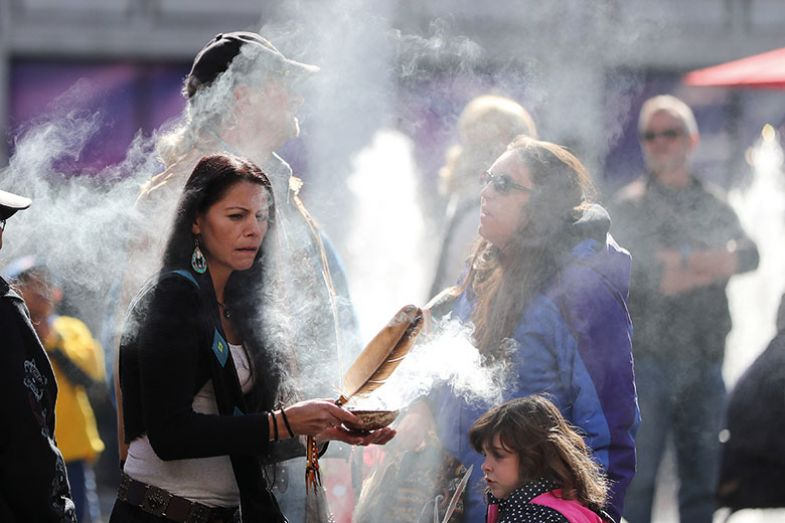 Smudging – an Indigenous purification ceremony