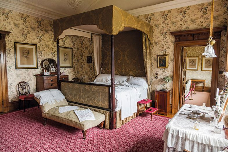 Stately home bedroom