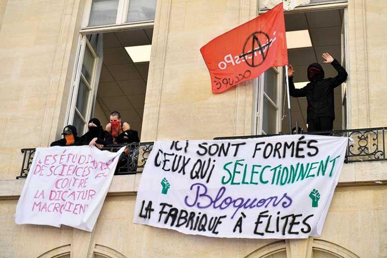 student-blockade-france